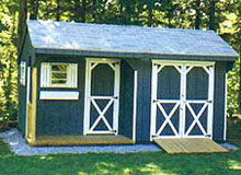 Carriage Shed with Porch